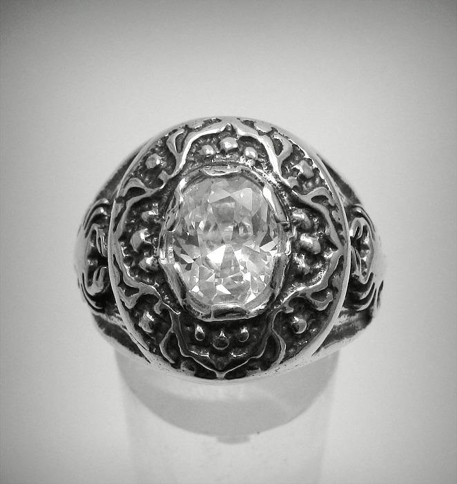 STERLING SILVER MEN/'S RING SOLID 925 NEW SIZE 7-14 EMPRESS